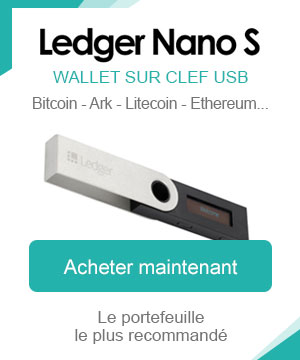 Ledger Nano S clé usb cryptomonnaie wallet